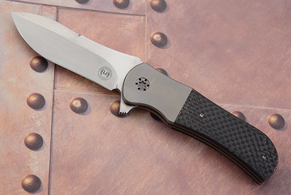 M36 with Lightning Strike Carbon Fiber and Titanium (IKBS)