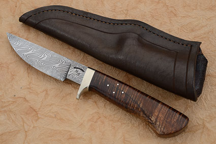 Twist Damascus Koa Hunter