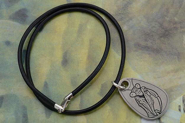 Titanium Mantis Pendant
