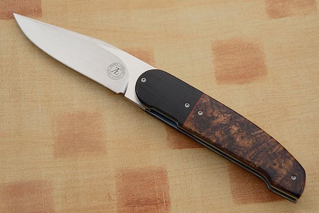 L40 Front Flipper with Rosewood and G10