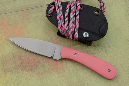 Small Practical EDC with Pink G10