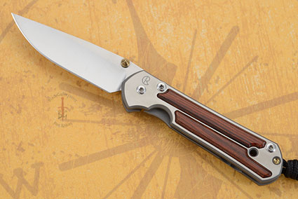 Small Sebenza 21 with Cocobolo