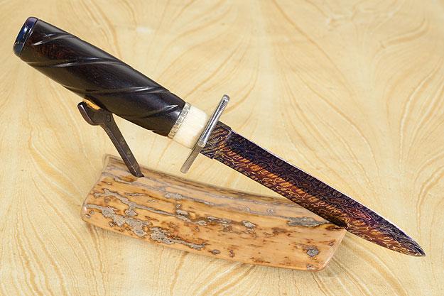 Butterfly Damascus Desk Knife