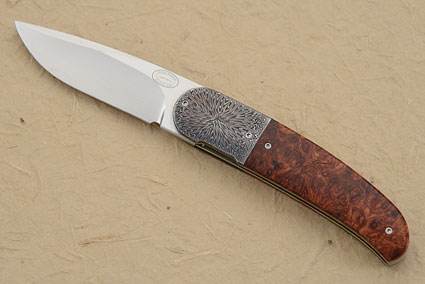 LL06 Flipper with Amboyna Burl