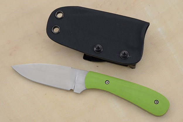Small Practical EDC with Toxic Green G10