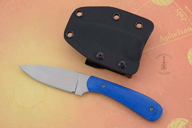 Small Practical EDC with Royal Blue G10