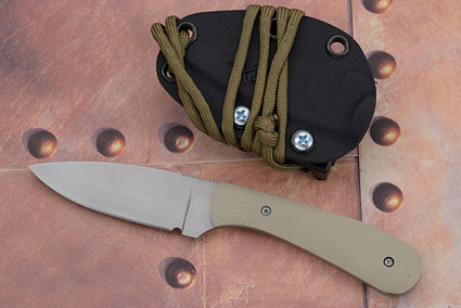 Small Practical EDC with Desert Tan G10