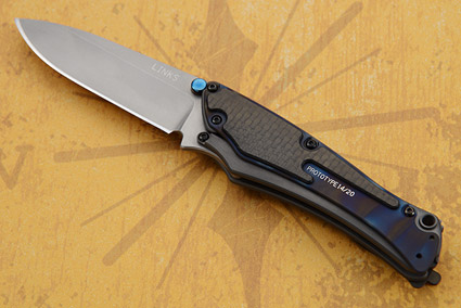 Links with Carbon Fiber and Flame Finished Titanium - PROTOTYPE 14/20