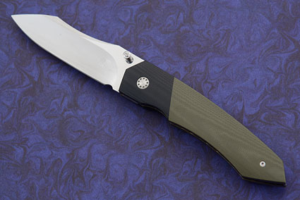 Tactical Folder with OD Green and Black G10