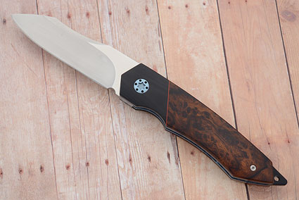 Tactical Folder with Ironwood, Black G10 and MoonGlow II
