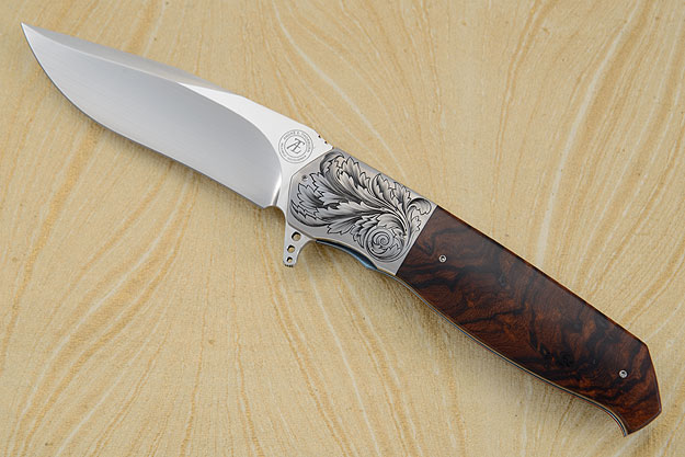 L36M Engraved Flipper with Ironwood (IKBS)