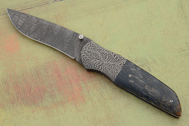 M34 with Mosaic Damascus and Mammoth Ivory