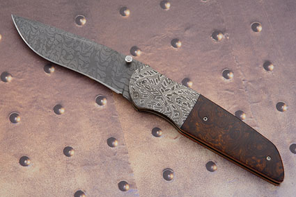 M34 with Mosaic Damascus and Ironwood