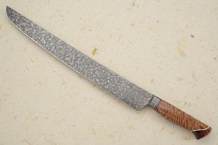 Slicing Knife with Curly Mango, Koa and Box Elder (13-1/2 in)