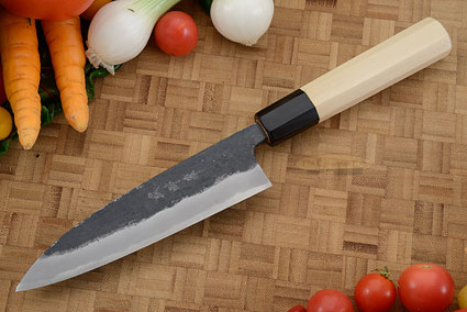 Heavy Chef's Knife (Sabaki) - 6 in. (150mm), Traditional Handle