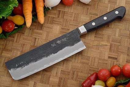 Chef's Knife/Vegetable Cleaver (Nakiri) - 6-1/2 in. (165mm), Western Handle