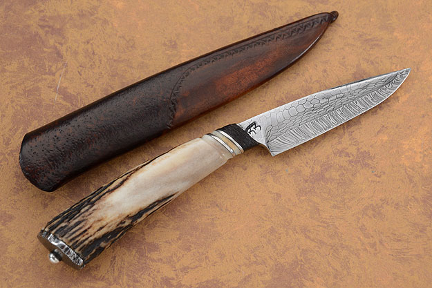 Snakeskin Damascus Bird and Trout