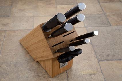 Shun Classic 9pc Kitchen Knife Set (DMS0910)