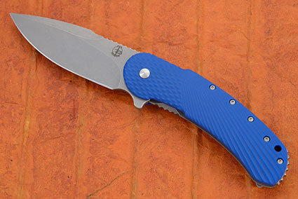 Field Grade Bodega with High Hollow Grind and Blue G10 (IKBS)