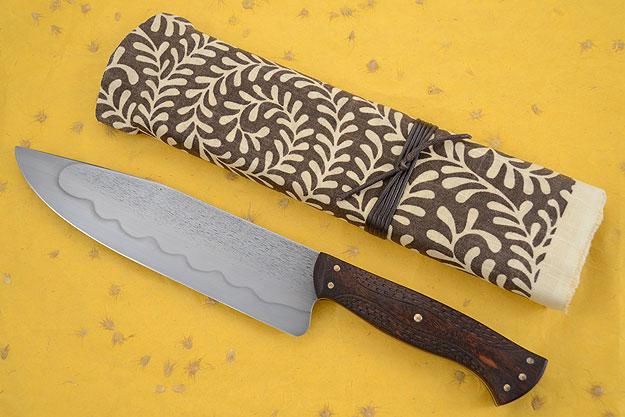 Goncalo Alves Camp Knife/Heavy Chef's Knife (Honyaki)