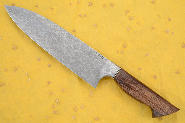 Chef's Knife (9-1/4 in.) with Curly Koa and Damascus