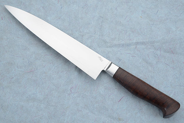 Chef's Knife (Gyuto) with Ringed Gidgee (8