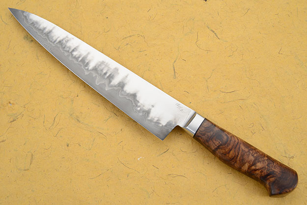 Chef's Knife (Gyuto) - San Mai with Rosewood (9-2/3