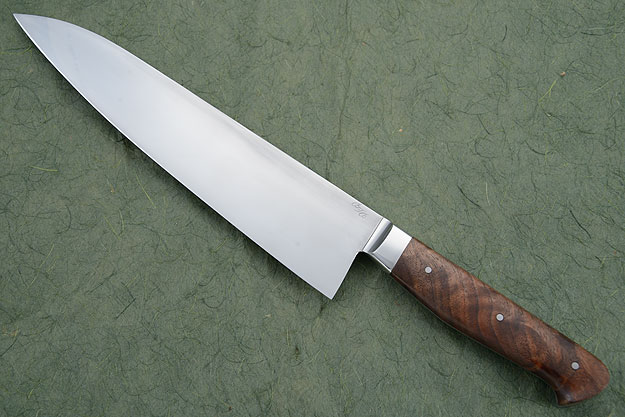 Chef's Knife (Gyuto) with Walnut (9-1/2 in.)