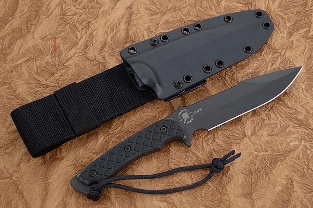 Horkos with Black Handle/Black Blade