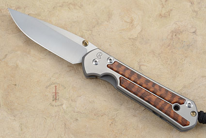 Large Sebenza 21 with Snakewood