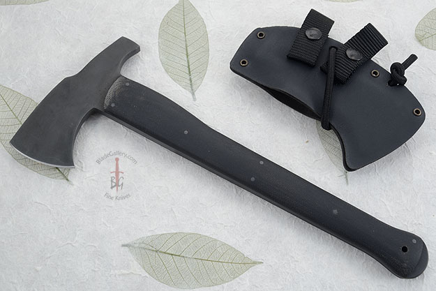 Hammer Combat Axe with Micarta and Caswell Finish