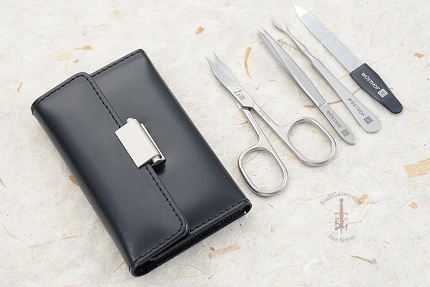 Manicure Set - 5 Pcs, Stainless Steel  (9041)