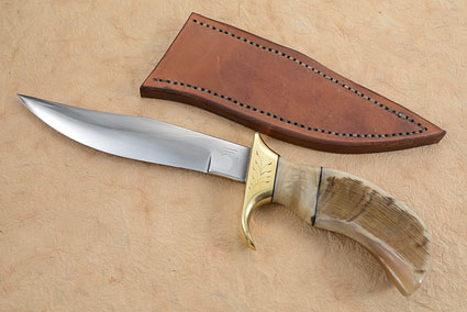 Fighting Pronghorn Bowie (7 in.)