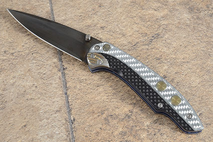 Pitch-Lock with Carbon Fiber and Silver Twill