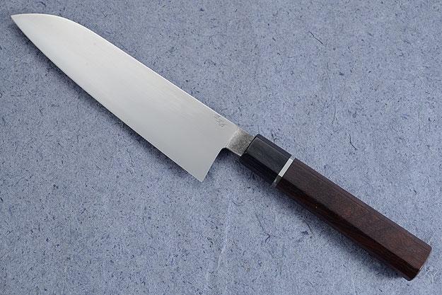 Chef's Knife (Santoku) with Macassar Ebony (7-1/8