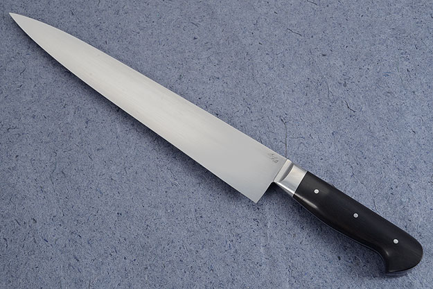 Slicing Knife (Sujihiki) with African Blackwood (11