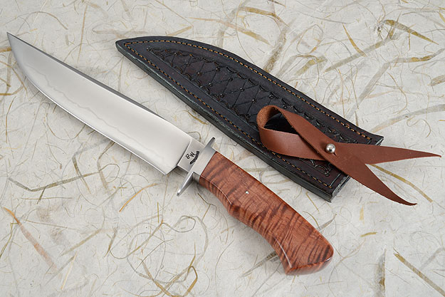 Hamon Fighter with Curly Maple