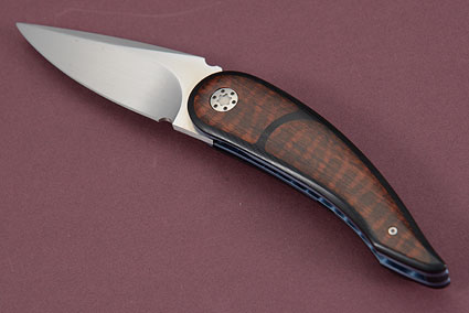 Tactical Front Flipper with Snakewood, G10 and MoonGlow II (IKBS)