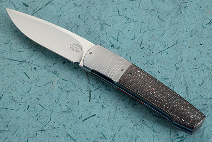 LL14 Front Flipper with Red/Silver Twill Carbon Fiber (IKBS)