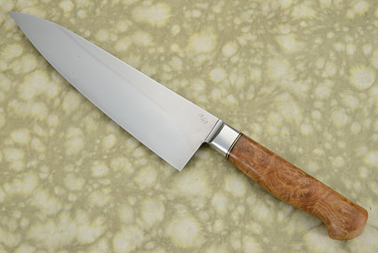 Chef Knife (Gyuto) with Mallee Burl (8-1/2 in.)