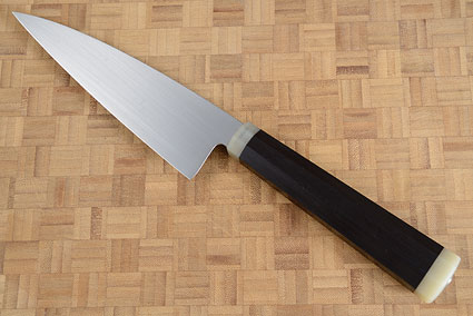 Chef's Knife (Gyuto) with G10 and African Blackwood (6-1/2 in.)