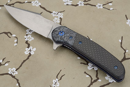 Chiron Flipper with Carbon Fiber<br><i>Best Folder</i> - 2014 Idaho Knife Association Show