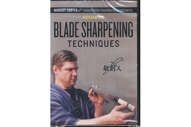 Advanced Blade Sharpening Techniques (DVD) by Murray Carter
