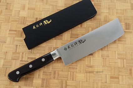 Bu-Rei-Zen (Blazen) Chef's Knife - Nakiri - 6 1/2 in. (165mm)