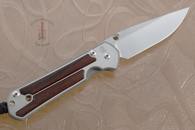 Large Sebenza 21 with Cocobolo - Left Handed