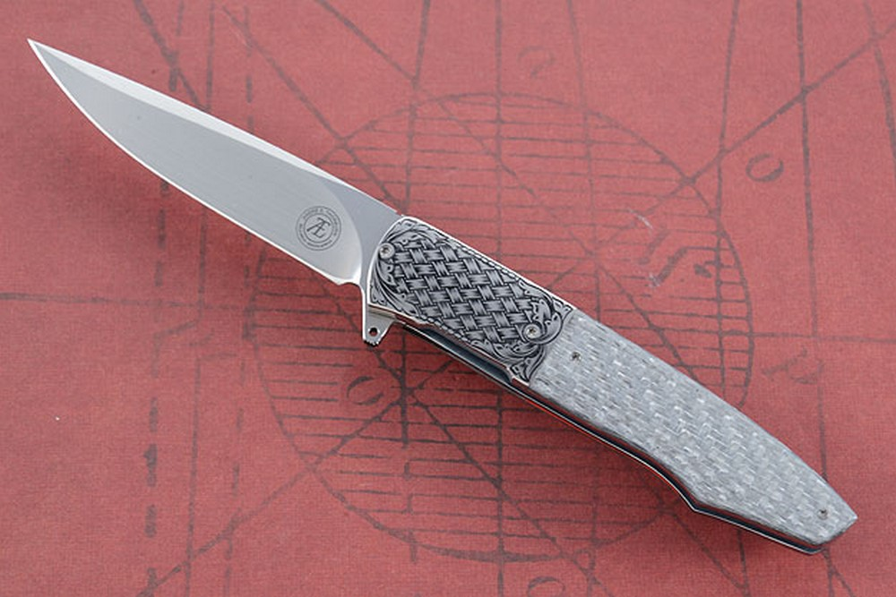 L19S Engraved Flipper with Silver Twill (IKBS)