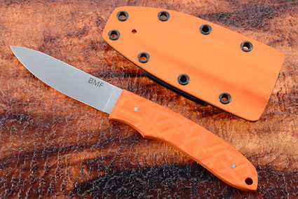 Ultra-Light Hunter with Orange G10 Scales