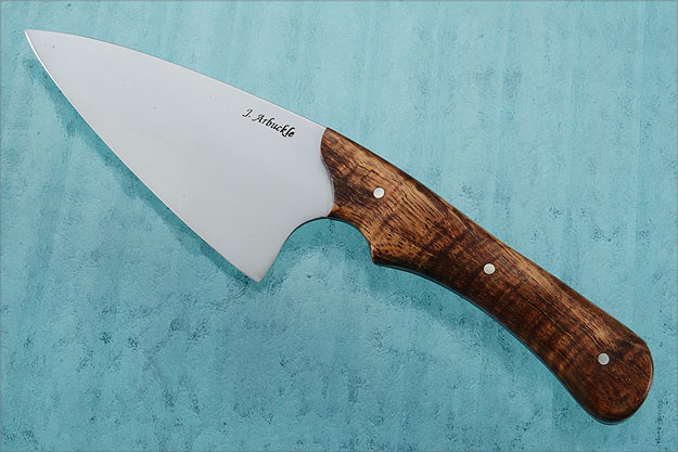 Chef's Knife (4-1/2 in) with Curly Koa