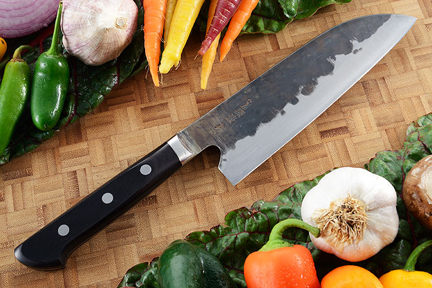 Denka no Hoto Chefs Knife - Santoku, Western - (180mm 7 1/8 in.)