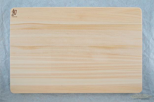 Large Hinoki Cutting Board (17-3/4 in x 11-3/4 in x 3/4 in) - DM0817